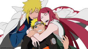 Uzumaki family by justwant2fly
