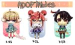 ADOPTABLES Auction OPEN by Danny-chama