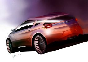 Ford CUV by pietrekm