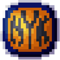 New York Knicks - Pixel Symbol by OneShotOneKiller