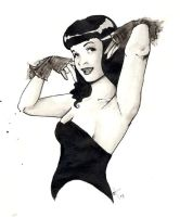 Bettie Page by shishah