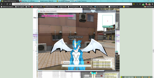 Now, my MMO avatar is a ExVeemon ! by JackFrost-LCDA