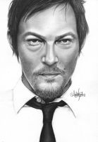 Norman Reedus by Mannaz11