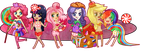 Equestria girls are fabulous by Blaans