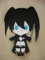 Paper Black Rock Shooter by BlackThunder-chan