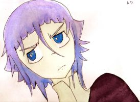 Crona in Watercolor by Just-Me143