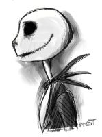 Jack Skellington by compoundbreadd