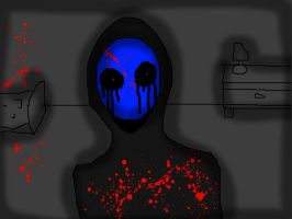 Eyeless bloodlust by shadowwolf133