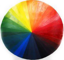 color wheel by palindromenoise