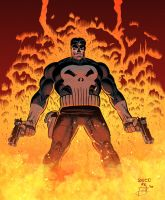 Punisher Pinup by Jasen-Smith