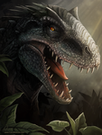 Indominus Rex by charfade