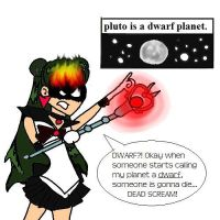 Sailor Pluto Kinda Mad About by chaseroo