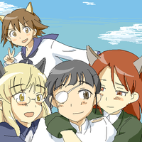 Strike Witches 2 final episode by Rhodonite