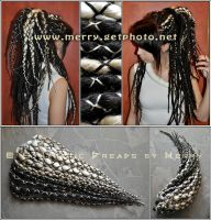 My dreads by Masquerade-Infernale