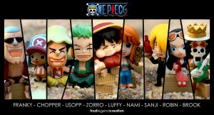 One Piece Beach Party Wallpaper by froztlegend