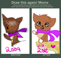 Draw this again meme by x-Fizzy-x