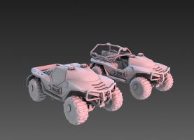 Halo 1 Warthog Modification by martynball