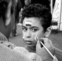 Coptic boy at Egypt demo by DreamsOnSand