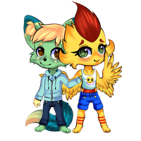 YFB x Picashu by YellowFeatherBolt