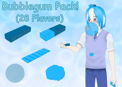 Bubblegum Pack! (28 Flavors) by lTheDevilTheoryl