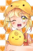 SimSimi's Fan by ahwKEI