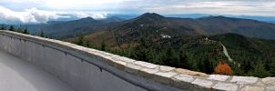 Mt. Mitchell Summit Panorama 3 by rdswords