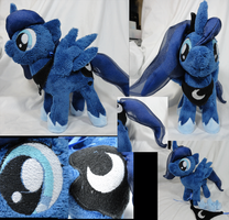 Filly Luna Plush by Cryptic-Enigma