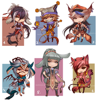 Kemonomimi Set Price (8$ each) CLOSED by Melixion