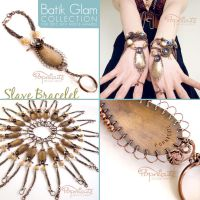 Slave Bracelet - Batik Glam Collection by popnicute