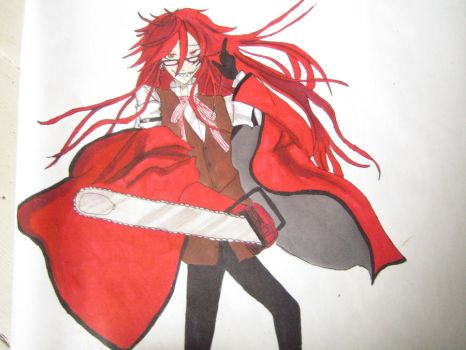 Grell Sutcliff by ChirucupcakeChan
