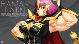 Muscle  Haman   Wall paper  by RENtb