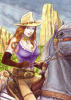 Cow Girl by darko-p
