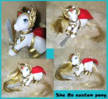 She Ra Princess of Power Pony by PrincessAmalthea