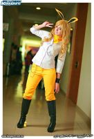 Jolteon Gijinka Cosplay by nekochik