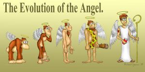 The Evolution of the Angel by richardsymonsart