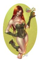 Poison Ivy by Elias Chatzoudis Colors by GiuliaPriori