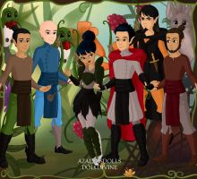 All The Characters From Mulan by briannamason7