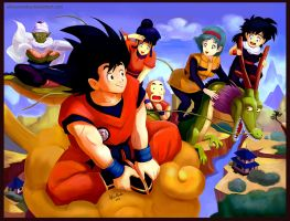 Dragon Ball Z by AlineMendes
