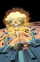 MARS ATTACKS: FIRST BORN #2 Cover Colors by LostonWallace