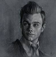 Sketch - Kurt Hummel by Duh22