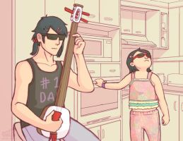 when mama isn't home by arch-nsha
