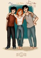 Next generation - the Potters by aidinera