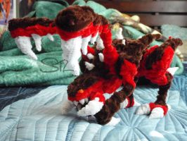 Pipe cleaner Zergling by hamstersdeluxe
