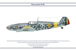 Bf 109 G-2 Romania 1 by WS-Clave
