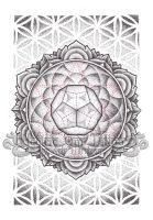 Dodecahedron Mandala 2012 by Ash-Harrison