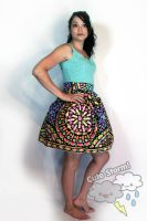 Candy Burst Skirt by The-Cute-Storm