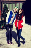 gf and bf in date by leehaneul