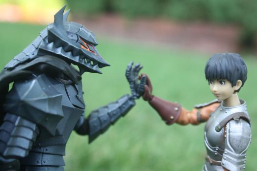 Casca and Guts by here-and-faraway