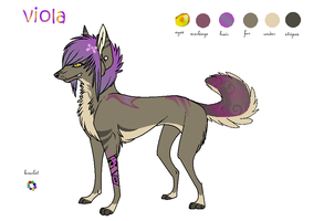 Viola adopt SOLD by J-Dove