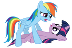 Twilight and Dash by Really-unimportant